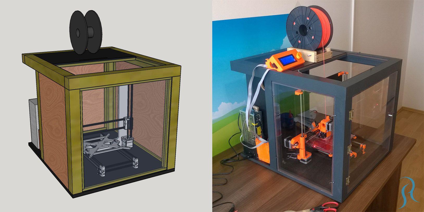 Diy 3d Printer Enclosure My Build Part 2 Robert Soj K