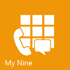 My Nine windows phone application