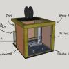 DIY 3D printer enclosure tile